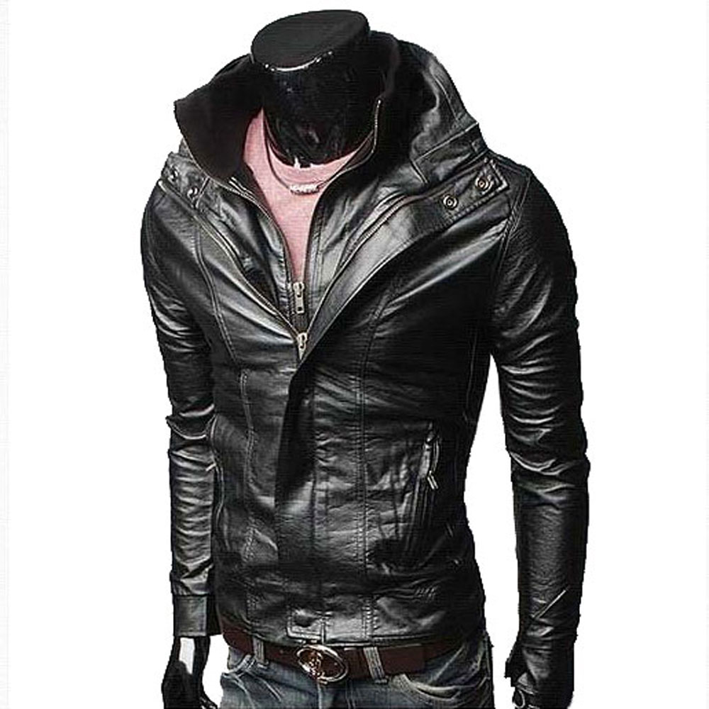 Men's jacket collar