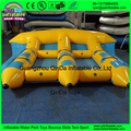 3 Tubes Flying Towables/Inflatable Flying Fish Banana Boat For Water Sports