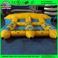 3 Tubos Remolcables de Vuelo/Pez Volador Inflable Banana Boat Para Deportes Acuáticos