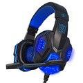 Alta qualidade Gaming Headset fone de ouvido Grande Legal Brilhando Fone de Ouvido Estéreo com Microfone para PC computador Gamer
