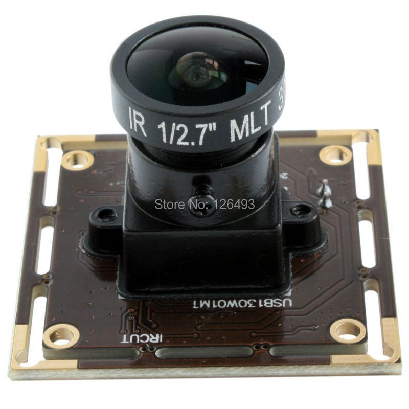 1280*960P HD cmos AR0130 free driver wide angle 170degree fisheye lens webcam app for android tablet