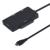USB 3.1 Tipo-C USB-C HUB Leitor de Cartão TF SD Para SATA Adaptador SSD Cabo