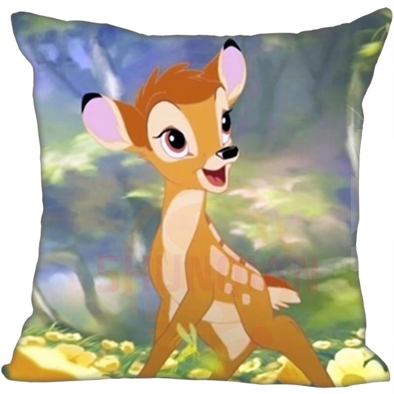 G0909-28 Cartoon Kid Bambi Pillow Cases 35 X 35 Cm Excellent Quality Soft Pillowcase