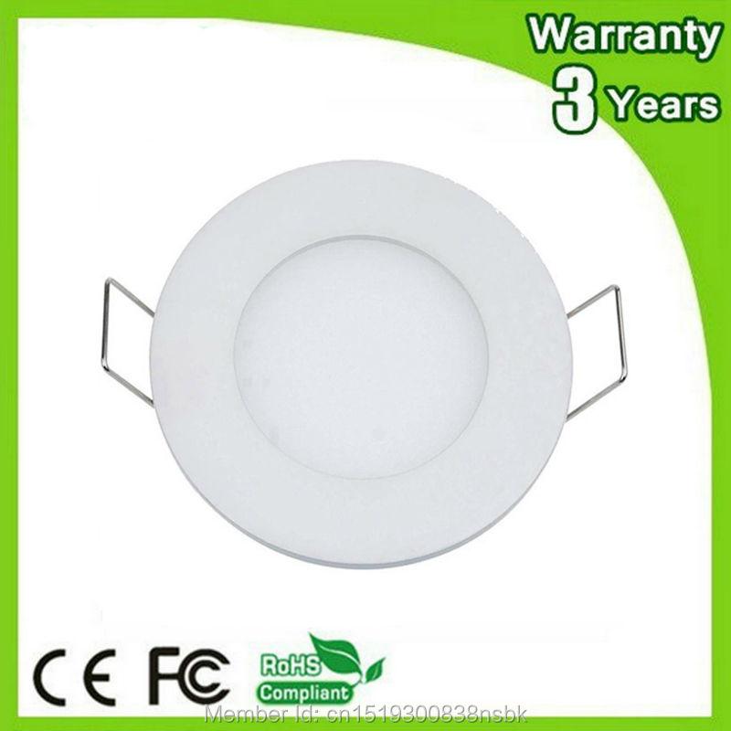 (50PCS/Lot) Warranty 3 Years Epistar Chip 3W 4W 6W 9W 12W 15W 18W 24W LED Down Lights Round Panel Ceiling Downlight COB Bulb