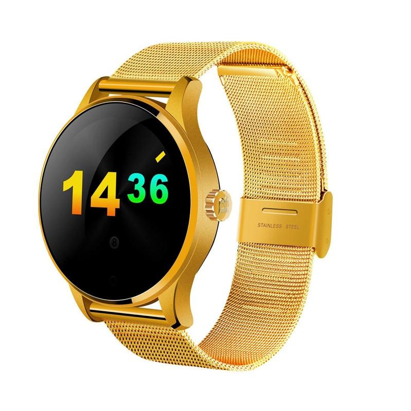 Design de moda luxo smart watch dele-e-hers casais smart watch para o homem mulher relógios à prova de água android & ios
