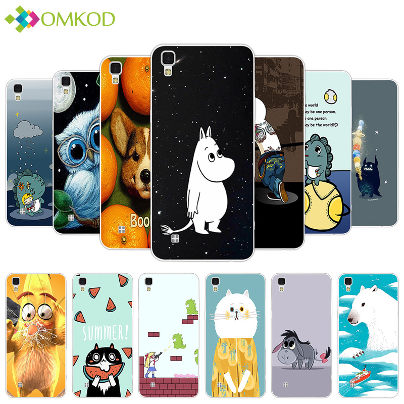 for LG X Powe K220 LS755 Silicone Cute Hippo Case for LG X Power Capa Cover Soft TPU Mobile Phone Bags for for LG X Power Cases