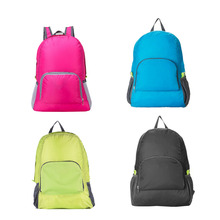 4.2L Lightweight Foldable Waterproof Nylon Women Men Children Pack Backpack Travel Outdoor Sports Camping Hiking Bag Rucksack