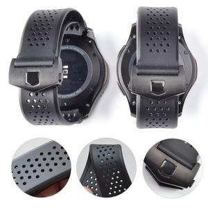 Image 1 - 20Mm 22Mm Sport Rubber Silicone Voor Samsung Gear Galaxy S3 Frontier Klassieke Waterdichte Horloge Band Strap Gebogen End armband Man