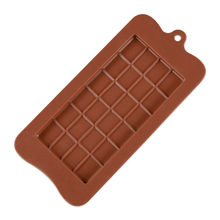 Square Chocolate Mold Chocolate Cake Soap Mold Baking Ice Tray Mould Kitchen Baking Accessories Bar Mould Cake Decoration Tools(China)