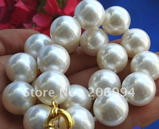 Genuine 20mm Natural Black South Sea Shell Pearl Round Gemstone Pendant AAA