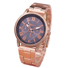 Brand 3 Eyes Rose Gold Bear Dress Women Watches Golden Steel Quartz Wristwatch Casual Quartz men Watch Ladies Clock Reloj mujer