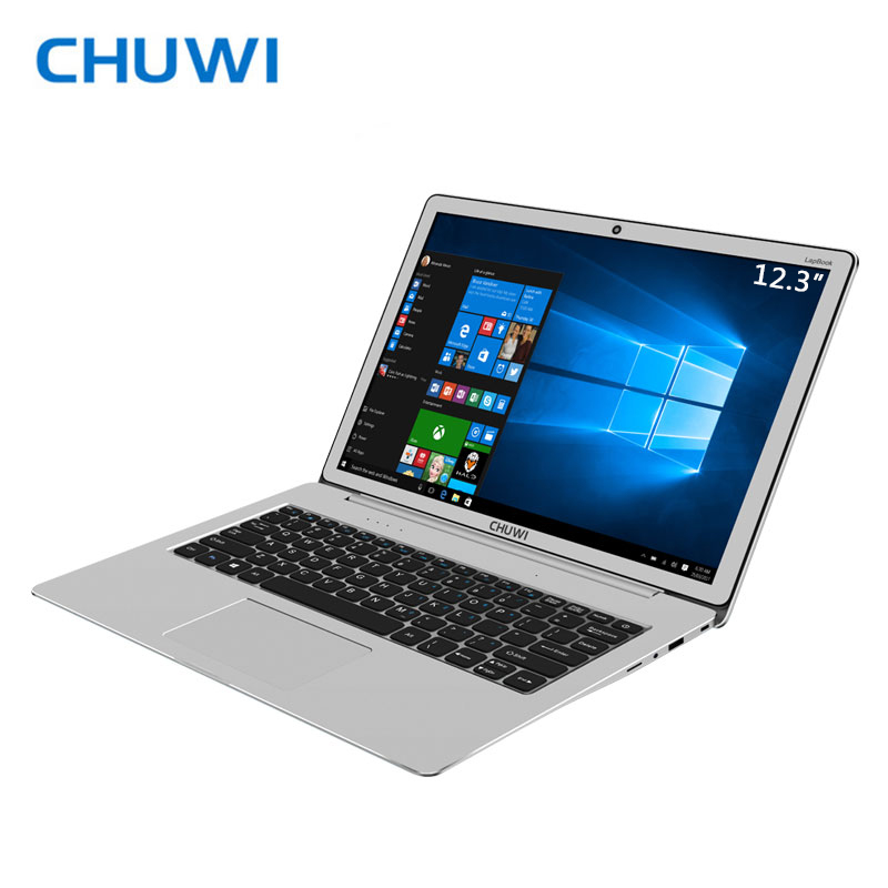 Big Promotion! CHUWI LapBook 12.3 Laptop Windows10 Intel Apollo Lake N3450 Quad Core 6GB RAM 64GB ROM 2K Screen and M.2 SSD Port vorke v1 plus intel apollo lake j3455 4k 60hz 4g ram 64gb ssd windows mini pc 802 11ac wifi gigabit lan bluetooth4 2 hdmi & vga