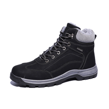Fashion Men Sneakers for Casual Shoes Breathable Lace up Mens Spring Leather Winter plus velvet shoes 68058