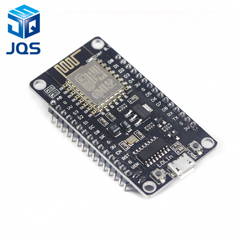 Wireless module NodeMcu v3 CH340 Lua WIFI Internet of Things development board ESP8266 with pcb Antenna and usb port for Arduino high performance microcontroller development board module for arduino nano v3 0