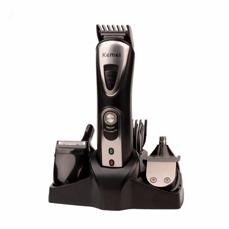 Rechargeable Hair Trimmer Clipper Cutting Machine Stainless steel Blade Shaver Comb Electric barber cutter Lettering Carving kemei barber professional rechargeable hair clipper hair trimmer men electric cutter shaver hair cutting machine haircut