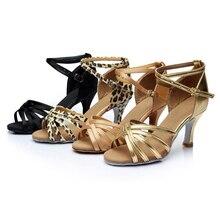 Brandnew женщин Бальные Латинской Танго Танцевальная Обувь На Каблуках Сальса Танцы Обувь Для Женщин Горячие Продаж
