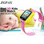 ZGPAX Smart watch Kids Wristwatch Q730 3G GPRS GPS Locator Tracker Smart watch kids Watch With Camera For Smartphone