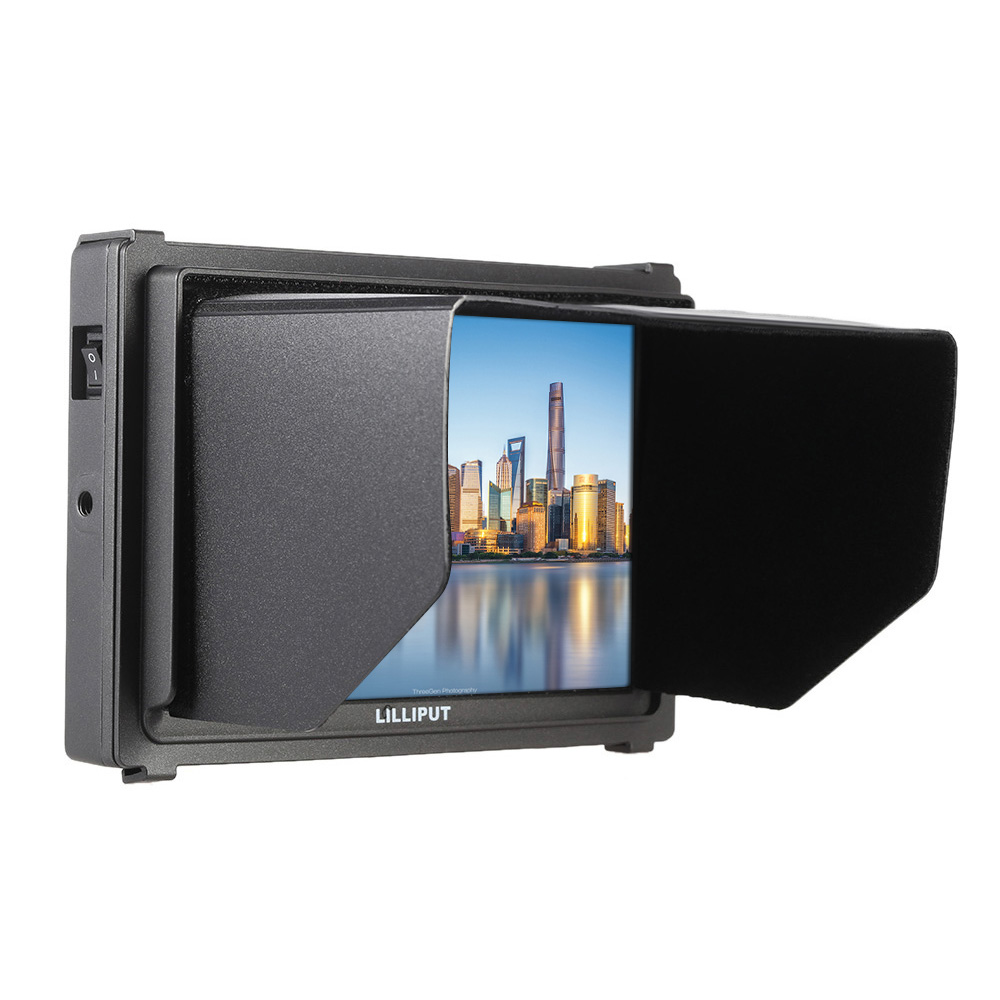 LILLIPUT Q7 7 1920*1200 Full HD On Camera Monitor SDI field monitor with 3G SDI and HDMI Cross Conversion for dslr hdv new aputure vs 5 7 inch 1920 1200 hd sdi hdmi pro camera field monitor with rgb waveform vectorscope histogram zebra false color