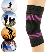 2pcs Breathable Non-slip Knee Support Brace Sports Protector Knitting Climbing Running Pad Fitness Volleyball Cycling CrashProof