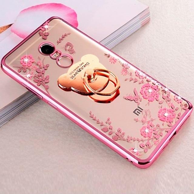 diamond garden case for redmi note 3 4 5 6 a x cover for xiaomi 8 8e