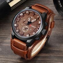 Mens Watches Top Brand Luxury Fashion Casual Sport Quartz Watch Men Military WristWatch Clock Male Relogio Masculino 2018 CURREN