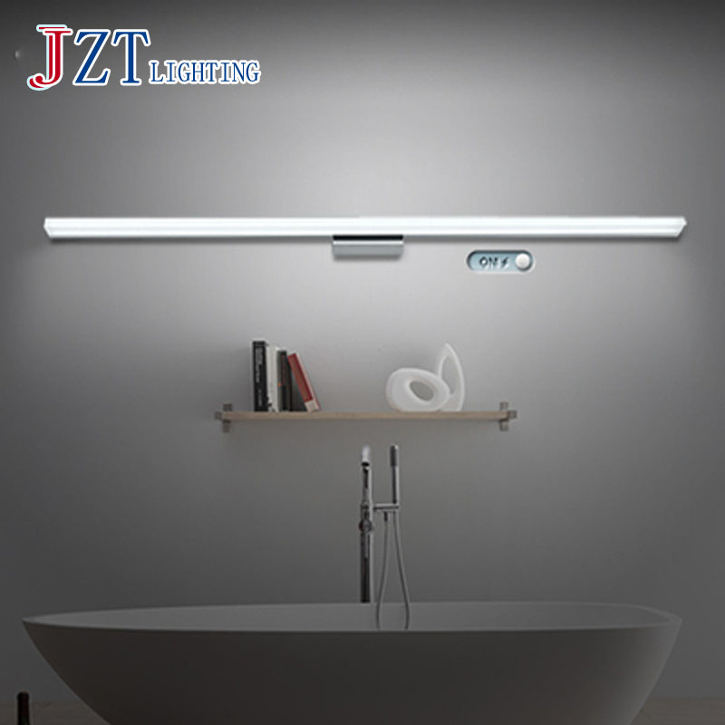 T Simple LED Mirror Front Lamp Fashion Waterproof Antifogging Acrylic Wall lamp Make up necessary For Bathroom BedroomT Simple LED Mirror Front Lamp Fashion Waterproof Antifogging Acrylic Wall lamp Make up necessary For Bathroom Bedroom