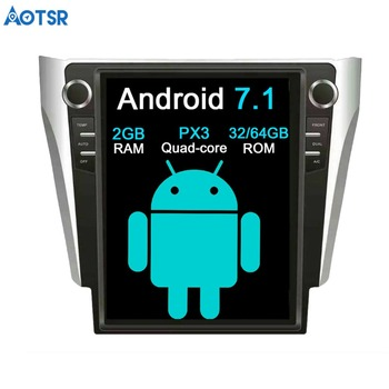 """Aotsr Tesla style 12.1"""" Android Car NO DVD Player GPS Navigation Stereo In-dash for Toyota Camry Aurion 2015-2017 Multimedia"""