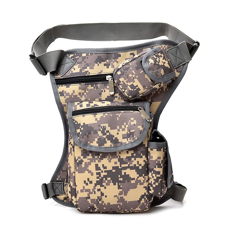 2017 Men Canvas drop waist bags Leg pack bag Men belt bicycle and motorcycle Money Belt