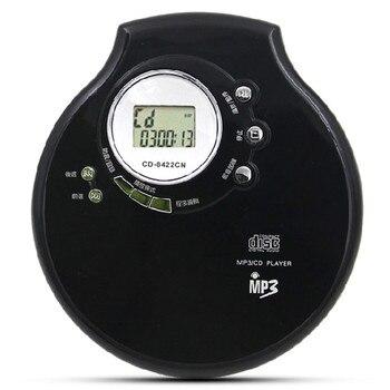 Portable CD Player Walkman Supports MP3 CD-R/W English Disc Leaning Machine HiFi Music Play Headphone Audio Balanced 3.5 Output