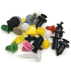 Image 2 - 100 шт. разнообразные автомобильные крепежные зажимы для бампера автомобиля, фиксаторы, заклепки, панели дверей, брызговик, универсальные, подходят для всех автомобилей