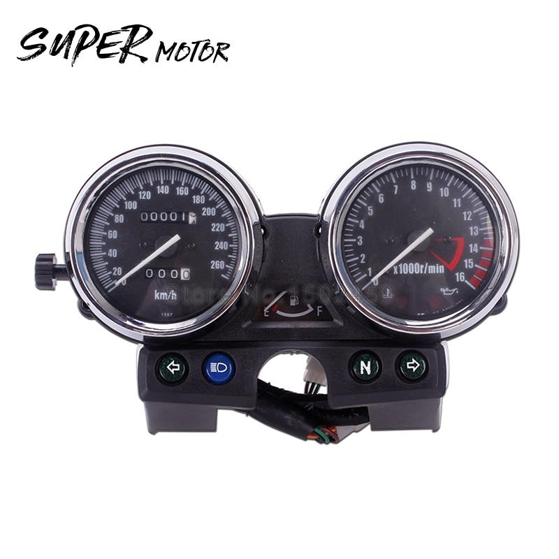Motorcycles Speedometer Gauge Tachometer Odometer For Kawasaki ZRX ZRX1100 ZRX400 250 400 750 1100 ZRX250 motorcycle speedometer tachometer speed instrument assembly for kawasaki zephyr 400 x zrx400 zrx750 zrx1100