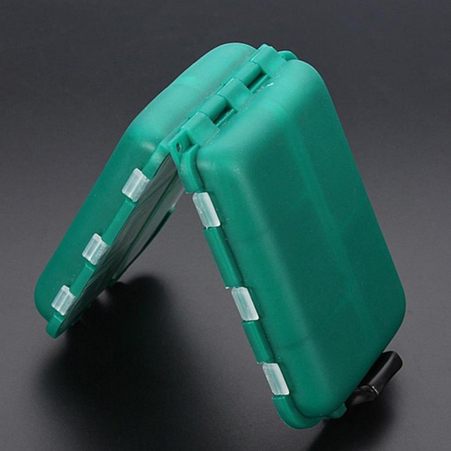 10 Compartments Waterproof Fishing Box