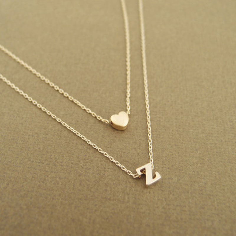 alphabet index necklaces silver pendant necklace l sarah