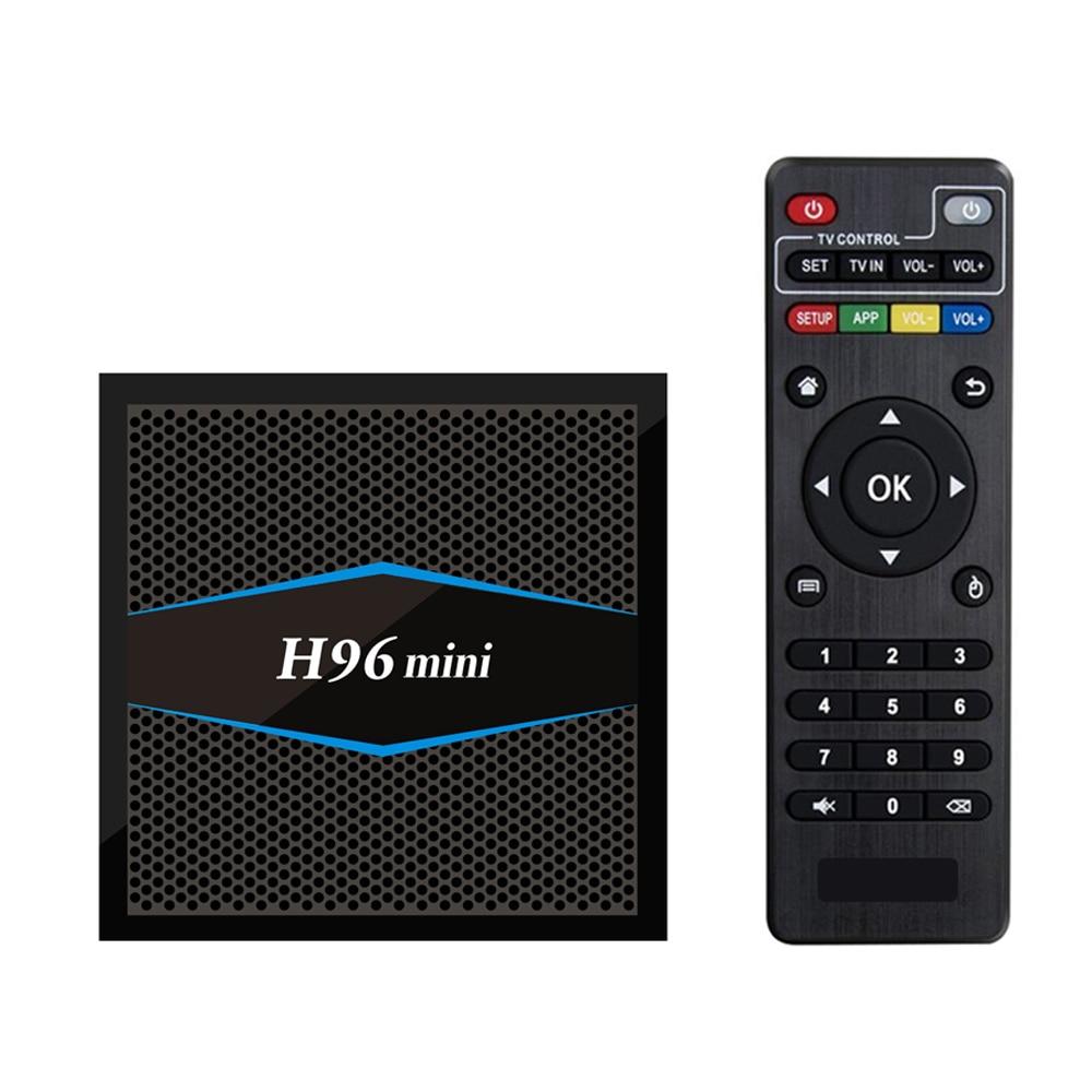 H96 Mini TV Box Android 7.1 S905W Quad Core WiFi HD 2GB+16GB BT4.0  Media Player