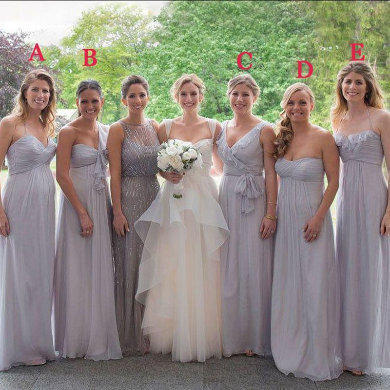 Online Buy Wholesale different bridesmaid dress from China ...