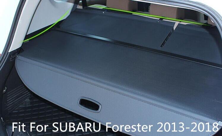 Protection de protection de sécurité pour coffre arrière de voiture de haute qualité compatible avec SUBARU Forester 2013-2018 par EMS
