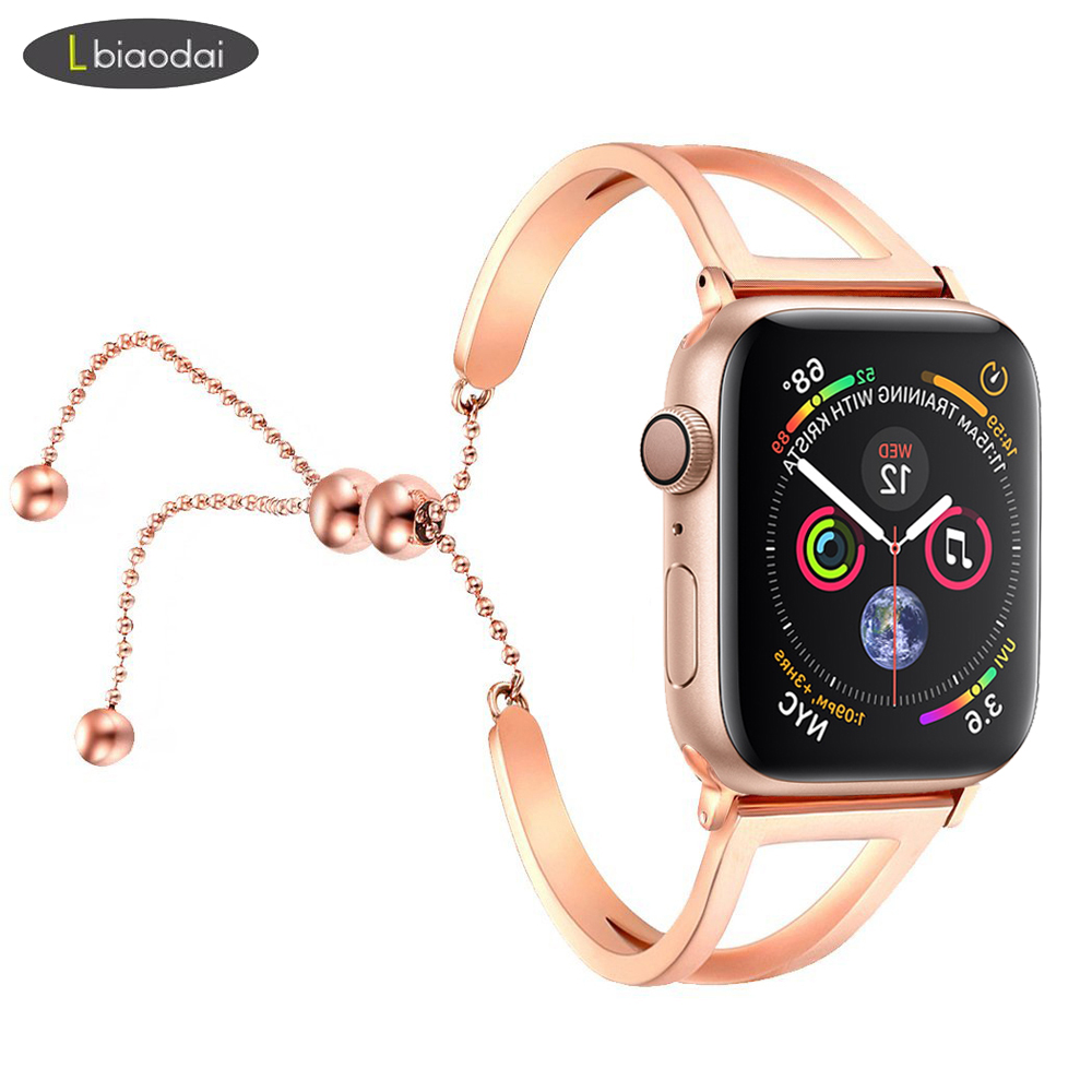 Stainless Steel strap for <font><b>apple</b></font> <font><b>watch</b></font> band 44 mm 40mm iwatch band <font><b>42mm</b></font> 38mm watchband <font><b>correa</b></font> <font><b>apple</b></font> <font><b>watch</b></font> series 5 4 <font><b>3</b></font> 2 38/42 image