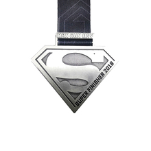 Customized Zinc Alloy Medal about 3.15 inches Antique Nickel