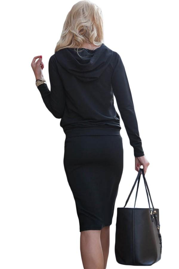 Black-Sporty-Hoodie-Pencil-Skirt-Set-LC63017-2-3