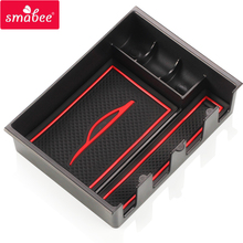smabee Armrest Box Storage For MAZDA 3 mazda5 AXELA ATENZA  Interior Accessories Box Auto Styling