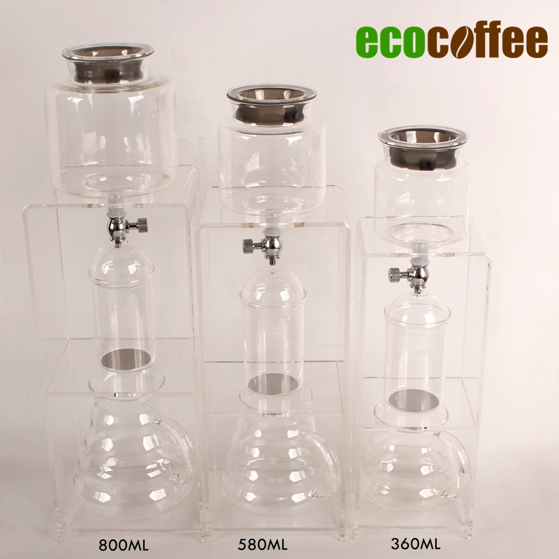 1 PC Free Shipping New Arrival Coffee Ice Coffee Dutch Coffee Ice Drip Brewer Dripper 360/580/780ML