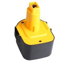 NI-CD 12V 2.0Ah replacement power tool battery for Dewalt Cordless Drill For DE9071, DW9072,DW904,DW917,DW980,DW915,DC727,DC528 2x 12v 3 0 ah 3000mah nimh replacement battery for dewalt cordless power tools de9037 de9071 de9072 de9074