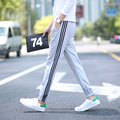2016 new men's Slim Fit Skinny Sweatpants Harem pencil Pants Trousers Solid Hip Hop male Trousers Pants casual Pants M-5XL