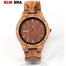 Wood Men Watches Relogio Masculino OEM Wooden Watch Top Brand Luxury Stylish Chronograph Military Watch Great Gift for Man 2017 men s top brand sentai design wood watches men analog watch man luxury quartz wristwatch wooden resistant relogio masculino
