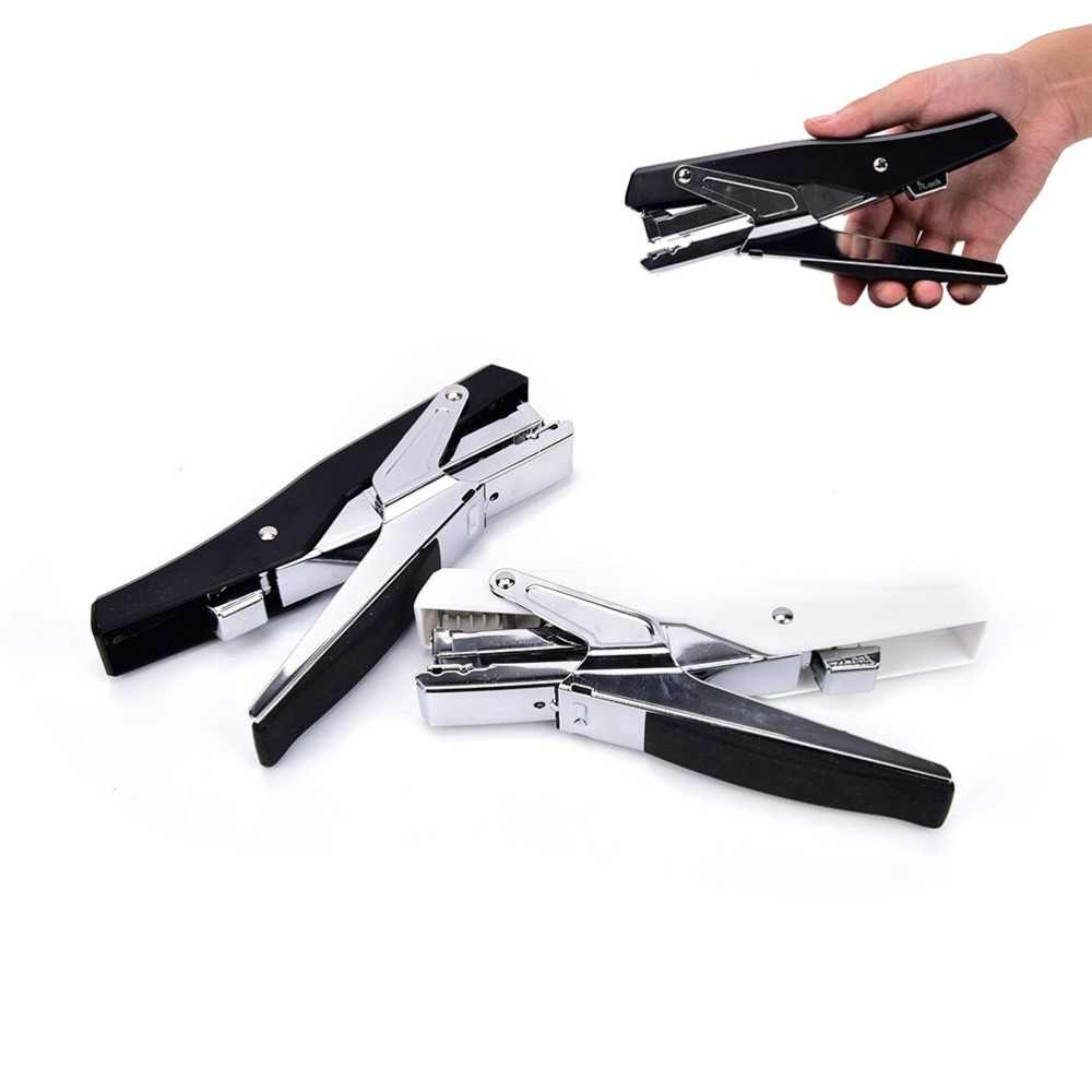 Степлер по типу плоскогубцев ручной металлический ручной степлер с скобами степлинг офисные принадлежности