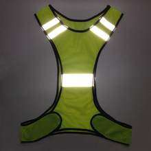 High Visibility Reflective Safety Vest Reflective Vest Multi Pockets Workwear Safety Waistcoat For Night Running Night Riding(China)