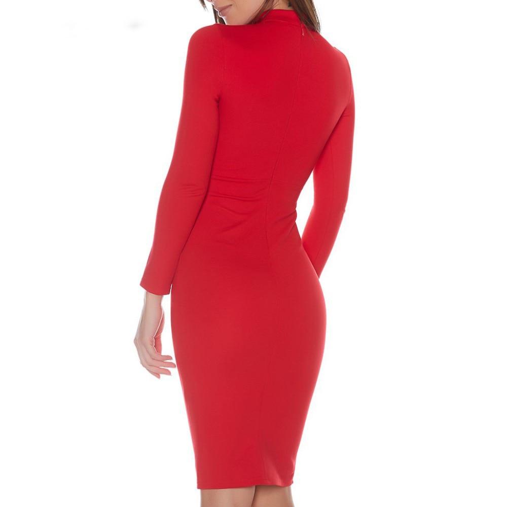 Жаңа Fashion Celebrity Party Bodycon Bandage Әйелдер - Әйелдер киімі - фото 2