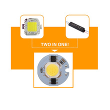 10PCS/LOT Power Cob Led Lamp Chip 3W 5W 7W 9W 12W Light Bulb 220V IP65 Smart IC White WarmWhite For DIY Spotlight Floodlight