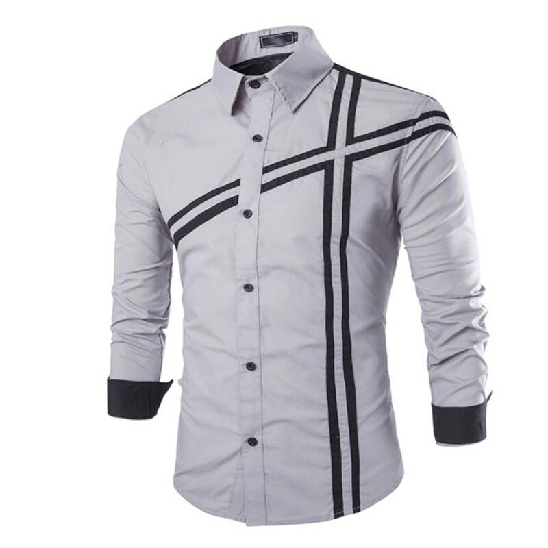 Préférence Chemise manches longues homme - Chemise et costume homme HO43
