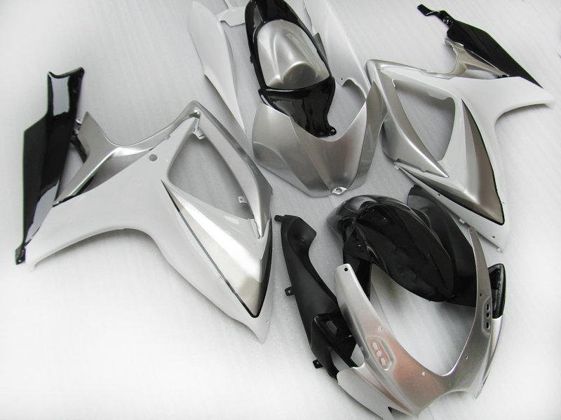 Right Side Fairing for Suzuki GSX-R 1000 07-08 K7 Injection Silver Yellow Black